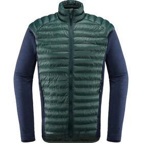 Haglöfs M's Mimic Hybrid Jacket Mineral/Tarn Blue